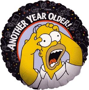 Birthdays. Hooray for turning a año older.