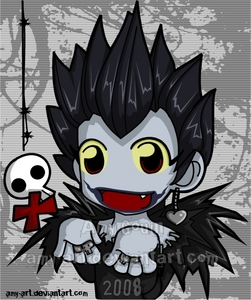 Ryuk ftw! Hope Du don't already have this one... Copyright goes to amy-art from Deviantart btw ^^