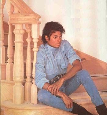 i've thought about it a little. but i would brobably  think about it more if i were older. i must say though he is so damn attractive in the thriller era.