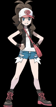 White from Pokemon White. I call her White because her real name is so unflattering... Either her অথবা Ash Ketchum, but I already pretty much have White's costume. Plus it would be really hard for me to put all my hair into a baseball টুপি D: