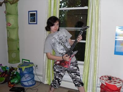 Me cause I'm the Punk Rock Goddess :D