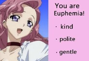 I got Euphie