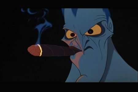 Oh, I don't know. Maybe Hades? Yup, totally not a fan of the Hercules movie from Disney. Nope, not at all...