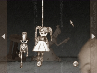 "It has got to be, ""The Tin Soldier"". It's a really cute little game. It's a bit creepy, and kinda sad. Throughout the whole game, there is a sad little lullaby playing. It's one of my favorites, and I recommend it. (Had to take a screenshot. Stupid google doesn't have تصاویر of it.) If آپ wanna play, http://jayisgames.com/games/the-tin-soldier/ That's the link. :)"