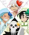 Soul Eater cosplaying as Shugo Chara :D
