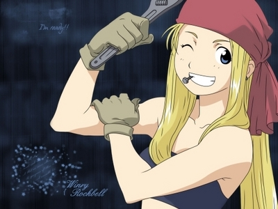 Winry Rockbell from FMA!
