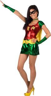 Im dressing up as Robin from teen titans o A girl gansta i`ve already got the costumes.both of them. Imagine the girl is wearing high healed black boots and up to the knee.