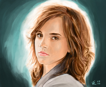 Hermione she is great and beautiful and i love her