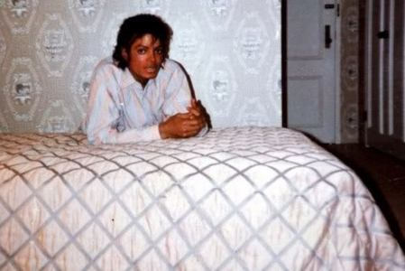 Michael in bed!!!