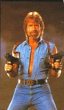 Nobody asks Вопросы but Chuck Norris!