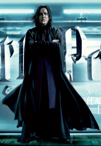 Severus Snape. Haven't bothered to analyse too much as to why. He just appeals to me.