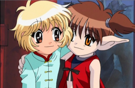 puding and Taruto of Tokyo Mew Mew! They're soooo cute!