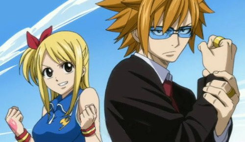 ~LUCY AND LOKE~ FAIRYTAIL!