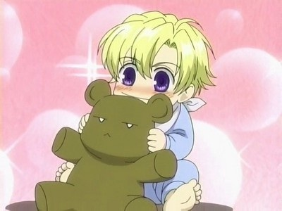 Tamaki and his Kuma-Chan