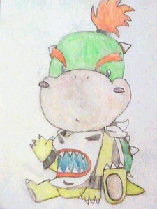 BOWSER JR.!!! X3 This is a drawing I did. :D