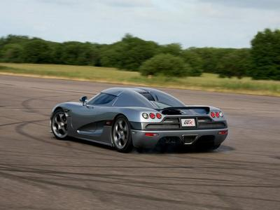 The Koenigsegg cc8s.