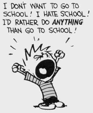 me 2 my school start t.m (first day)i hate schooooooooool)school suks 0_0