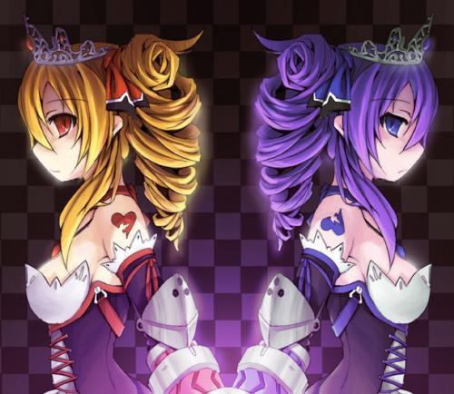 post anime twin sisters (it can be also brothers or ...