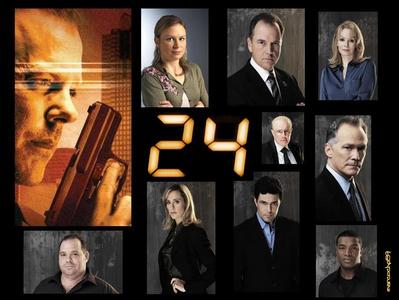 [b]24[/b] is the greatest mostra in the world. In short, it's about politics and terrorism and a man named Jack Bauer who is the epitome of everything badass.