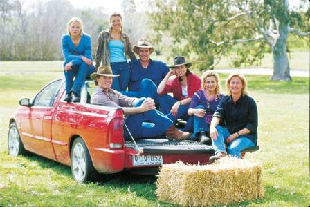 McLeod´s daughters An australian TV mostra (started in 2001 and had 8 seasons) about women facing an adventure of running a farm in South Australia without any men. Starts when Tess comes from the city to a farm she half inherited from her death father. She comes back and meets her sister Claire (same dad, but different moms) she haven´t seen for 20 years. There are also various other women in the story and it´s mainly about how strong they can be sometimes, but that doesn´t mean men don´t have a place in their life. But it´s my secondo favourite TV show, the first is Grey´s Anatomy.