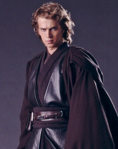 I love this picture of my favorite character, Anakin Skywalker. He not only looks like he's heading for the darkside but looks good doing it!
