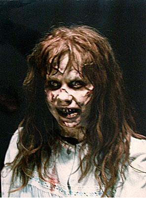 The Exorcist. I've never seen it. Looks and sounds scary. Here's a screenshot from the movie to keep anda up at night. BBLLLLAAAAAARRRRGGGHHHH.