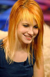 Have tons of crushes both real and fictional. One of my celebrity crushes is Hayley Williams.