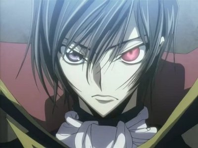 Lelouch from Code Geass. (also Naoi, Hinata, and Noda from অ্যাঞ্জেল Beats but Lulu tops all)