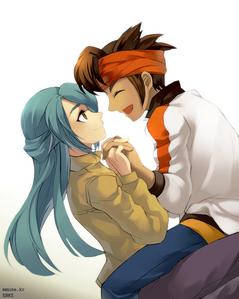 abit disturbing but kazemaru looks cute in this pic ^^