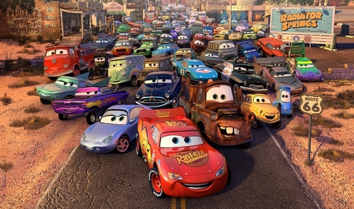 as a kid: I dont think I had a paborito movie... Now: Disney Pixar`s Cars and Cars 2! :D