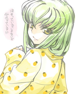 "I can never find a ""bad"" shot of C.C. from Code Geass, so she'll always be the most beautiful Anime girl to me ^_^"