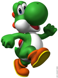 Yoshi!!! He's so so so cute! Amazing! Awesome! One of the best characters ever! I don't have words to express how much I 愛 him! I also like Boo, Mario, Luigi, デイジー and Bowser:)