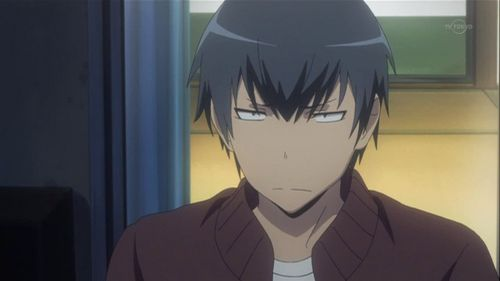 Ryuuji from Toradora :3 He has to put up with a lot. He is so cute!!