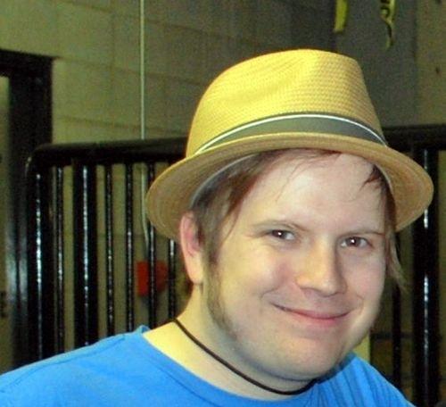 Patrick's yellow hat <3