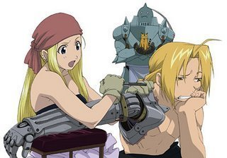 Winry from Full Metal Alchemist is my favorite!