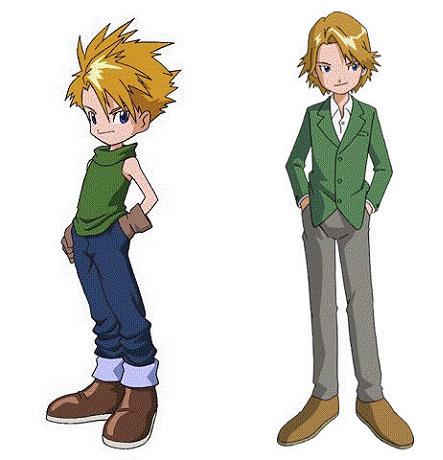 """My **very** first one? Yamato Ishida """"Matt"""" from Digimon! <3"""