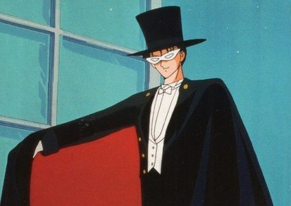 This is my first アニメ crush! Tuxedo Mask from Sailor Moon. It was the first アニメ I got to watch. This brings back memories. LOL!