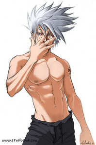 My first アニメ crush was はたけカカシ from Naruto. I still like him too!:)