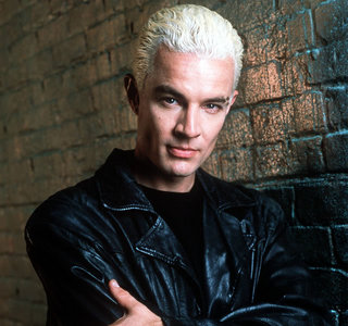 James Marsters <3 (this is in his Buffy the Vampire Slayer/Angel days. He doesn't have the bleached platinum blonde hair anymore :( )