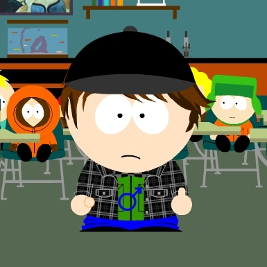 I've South Park'd myself many times.