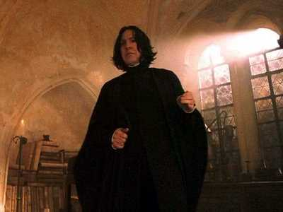 I keep coming back to Severus Snape. And I know, he's not going to have a miracle of a change of دل and be all sweetness and light. He's going to be a brilliant, precise in the necessary things, intense, مزید than likely bi-polar یا manic depressive, PTSD, snarky, sarcastic, insulting, occasionally cruel, humorous, sexy, bastard that we all have grown to love and admire. And being in a relationship with someone that has many of those same qualities, definitely Severus Snape! LOL