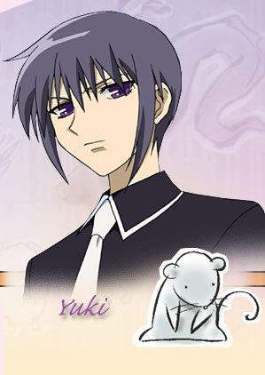 my first crush was Yuki Sohma from Fruits Basket