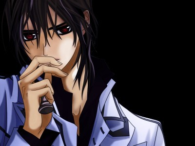 totally Kaname from vampire knight also some of the guys from one piece (Ace,Shanks,Zorro and also teito & natsume from some other anime series)