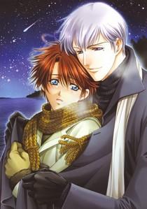 keita and omi form gakuen heaven in winter