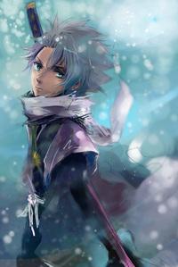 Toushirou in the winter