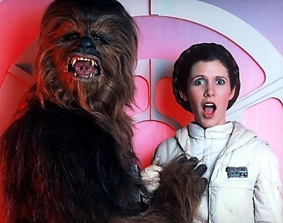Their love-child will be a 5 ft. tall Wookie with permanent hair-buns... LOL!