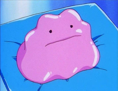 No idea *Pokes* it kind of remindes me of the Pokemon Ditto but its not as cute.