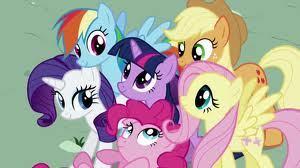 Fluttershy, Pinkie Pie, Rarity, Twilight Sparkle, Applejack, or bahaghari Dash.