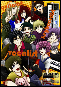 Here's mine but it's actually two bands but from the same アニメ &manga Gravitation. They are Bad Luck and Nittle Grasper.