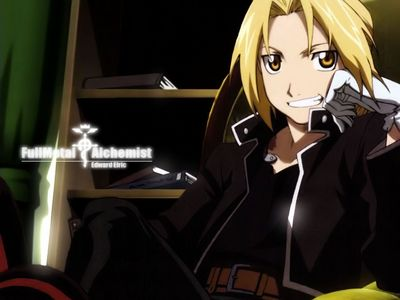 My favourite charater, Edward Elric!! XD (from fullmetal alchemist)